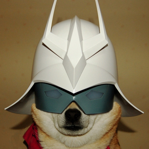 Char Inu: Long Live Zeon and Doggy Treats It's everyone's favorite antagonist / protagonist, The Red Comet, now in fluffy form! I hope he flies around space in a dog-shaped Mobile Suit. source