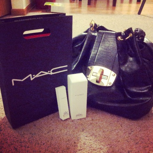 Today was a perfect shopping day! #Mac #makeup #beauty #shopping #lesbian