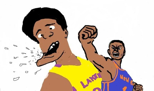 chris childs and kobe bryant fight