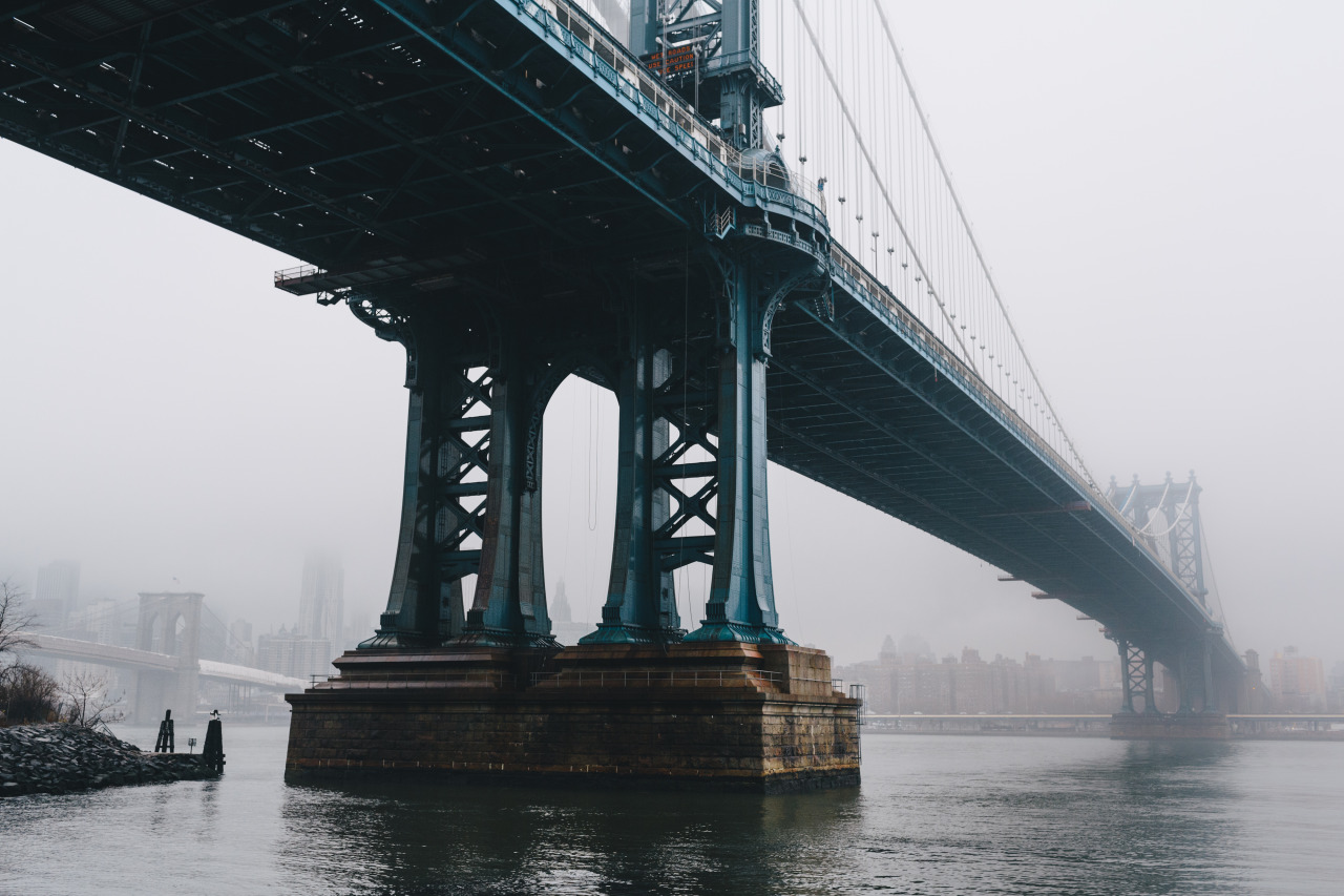 Manhattan Bridge, December 2012