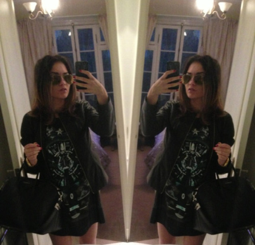 ootd, shorts and leather jacket, alexander wang, glasses raybans, shirt and bag givenchyinstagram: jessaleks