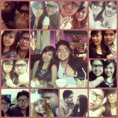 "A piece of every moment we shared together. And more to come.. :""> @jirehsingson #younglove #friendship #purehappiness #memoirs"
