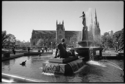 Hyde Park, Archibald Fountain, Sydney