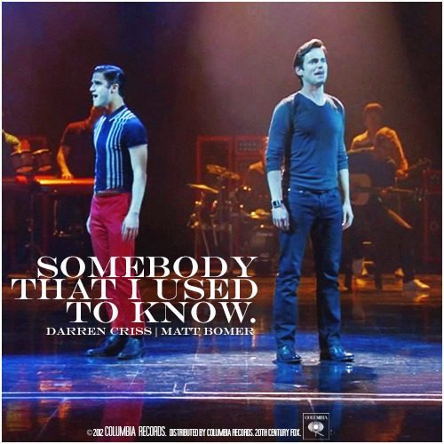 3x15 Big Brother | Somebody That I Used To Know Requested Alternative Cover