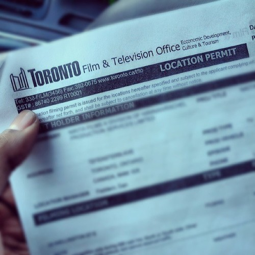 Legal, Legit, Official - WATCH ME DO THIS!!! Grrrrrrrrrrrrr… #Toronto #Film #TV