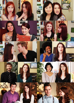 The Lizzie Bennet Diaries    Favorite caps of Q&A 01-10
