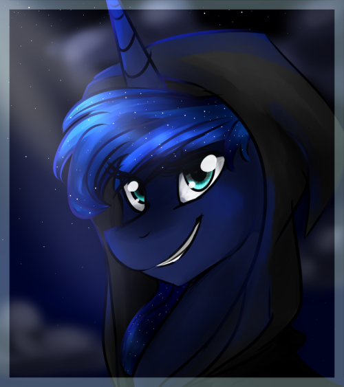 theponyartcollection:  Luna portrait thing by ~Oscarina1234