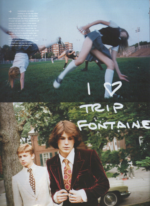 Do You Remember the First Time? - Photographs by Corinne Day & Sofia Coppola, (1999)