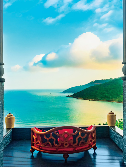 Live the May 2013 Cover | The InterContinental Danang Sun Peninsula Resort, the foothills of Son Tra Mountain on the coast of central Vietnam