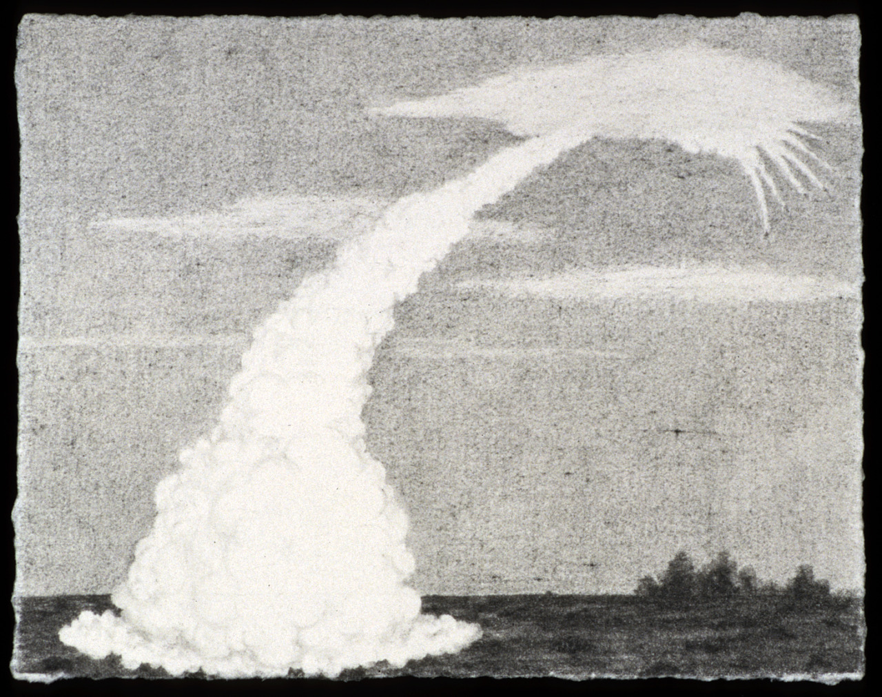 "Launch Graphite 3"" x 4"" 2003 Scott Espeseth"