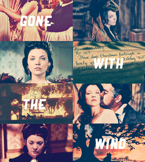 aestheticisms:  {{ 1/10 }} classics recast:Gone with the Wind - Natalie Dormer as Scarlett O'Hara After all, tomorrow is another day.