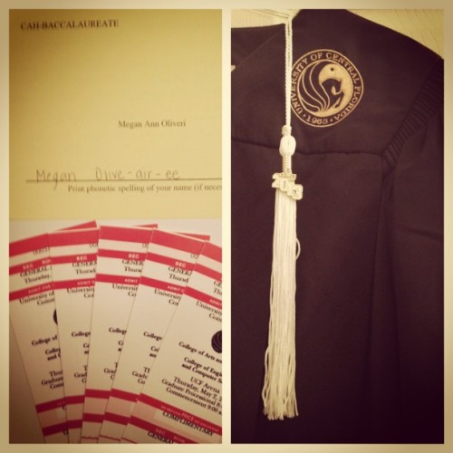 Can't wait. #graduation#ucf#finally#phonetic