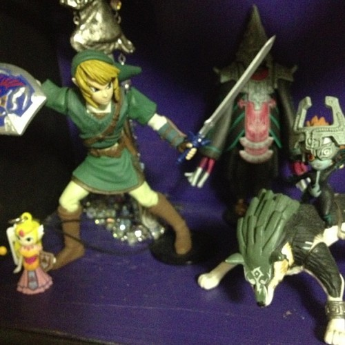 A small sample of my #zelda toys #videogames #nintendo