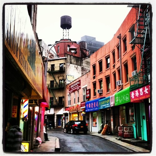 Doyers Street, Chinatown, NYC