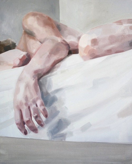 Self-Portrait (with arm) by Addie Price