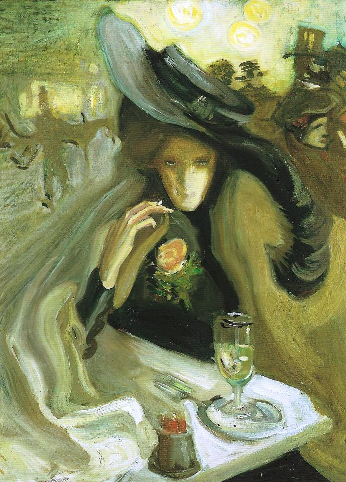 fleurdulys:  Absinthe - Axel Torneman 1902
