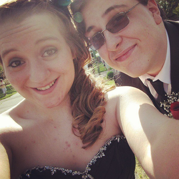 Look how beautiful she is.<3 #prom #beautiful #pretty #girlfriend #cute