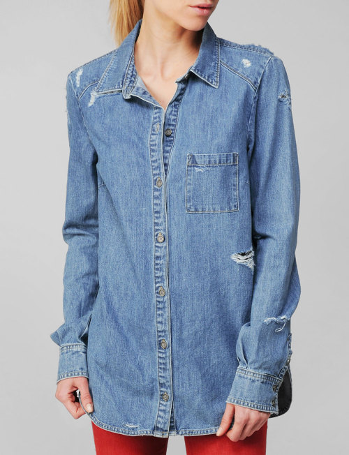 Paige Eden Destructed Shirt