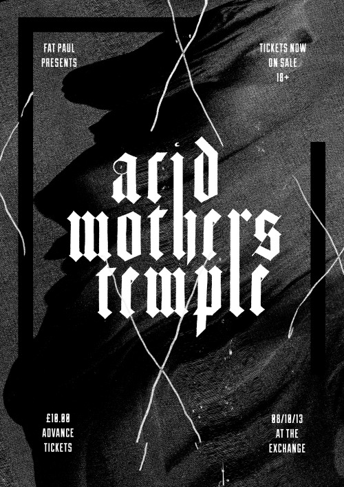 Acid Mothers Temple @ The Exchange Ø8/1Ø/13