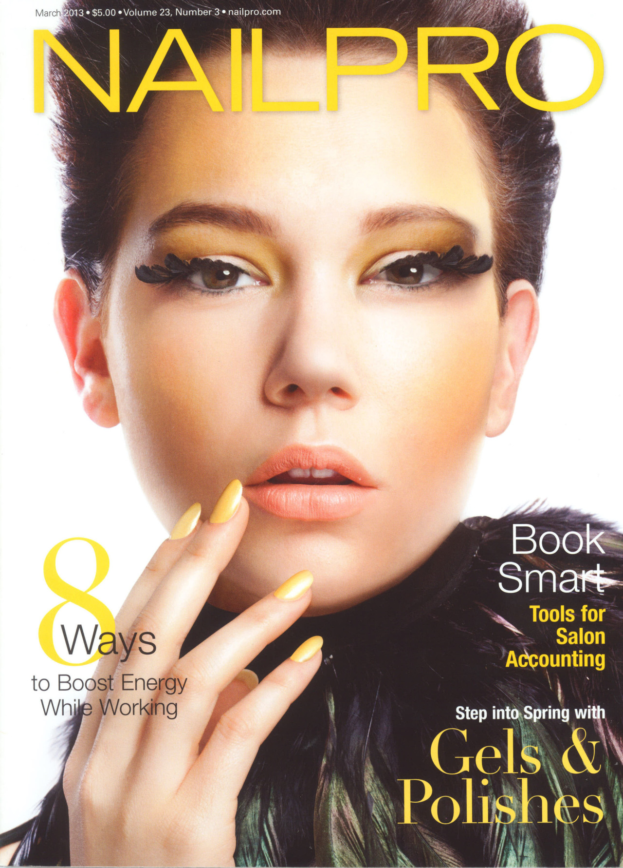 Nailpro cover #2 with Alli! haircolor by Jared Gee haircut by Jennifer Audeon