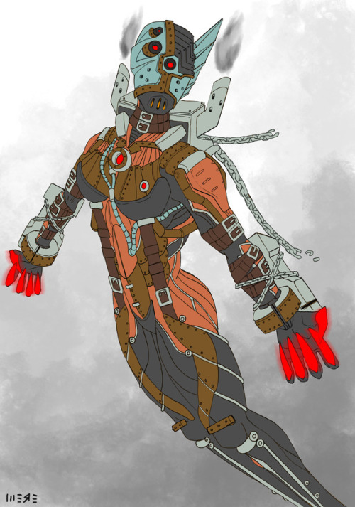 warframe valkyr warframe valkyr steampunk concept art artists on tumblr mech