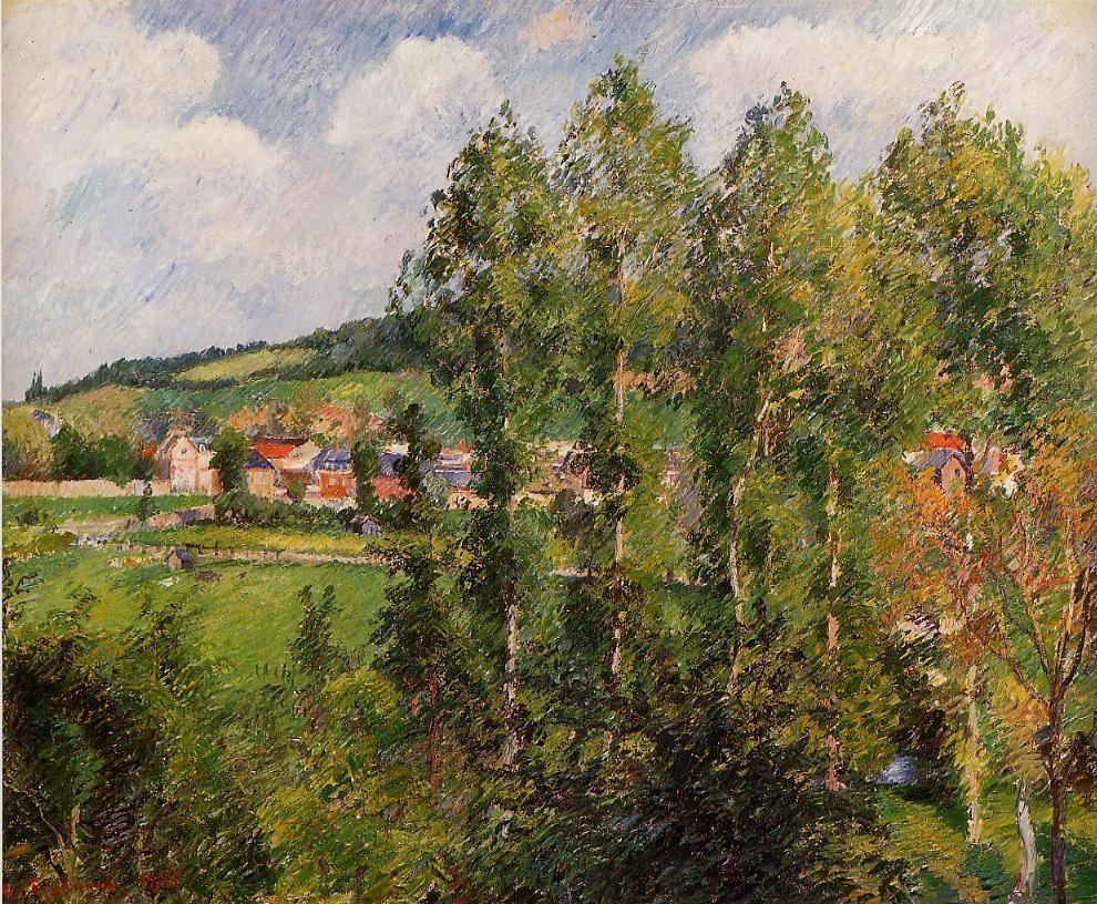 Camille Pissarro - Gizors New Section