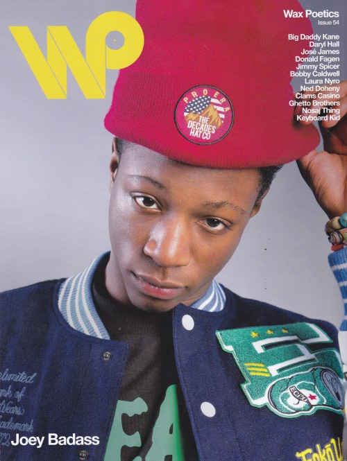 barsandtwists:  Joey Bada$$ on the alternate cover of Wax Poetics