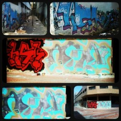 Triple Double Swag, las 3 en la misma cuadra #Hsk #Against #caracas #Graffiti #LaCandela