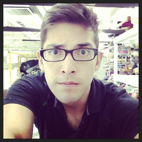 Serious nerd face at work #work #boredom #instagood #nerdy #cute #gay #glasses