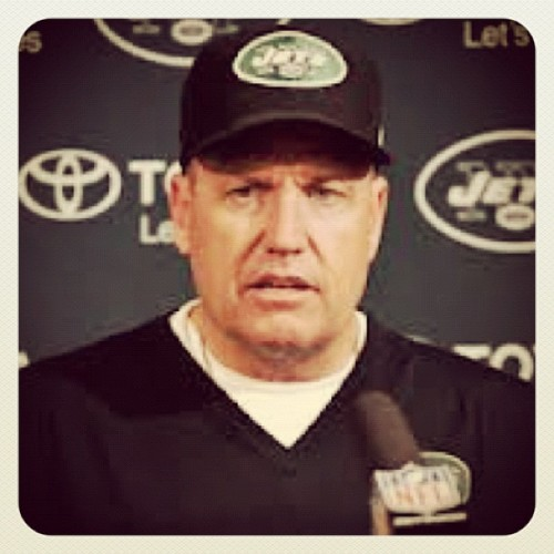 thejetreport:  Terrell Suggs on Rex Ryan: I love the man to death. You all blew (tattoo) way out of proportion. I think everybody should have a certain amount of privacy.. Just know he's a rare breed of coach and he turned boys into beasts. Not into men, he turned them into beasts.