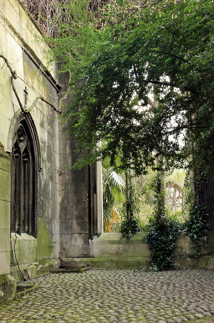 mysticjones:   The Secret Garden by Ineta23  St Dunstan-in-the-East, London, England