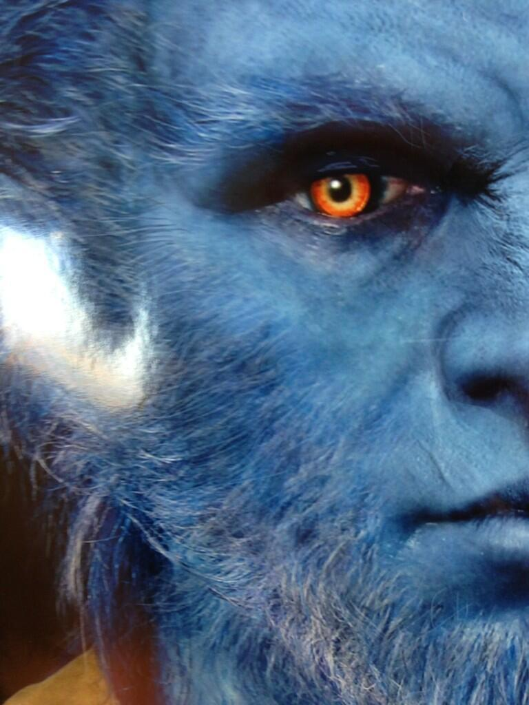 "Bryan Singer teases new concept art for Beast  Bryan Singer has tweeted what looks to be a new piece of concept art for blue-furred badass Beast, with the character's design having undergone a subtle change for X-Men: Days Of Future Past.  The new-look Beast seems to have more human definition in his facial features, and is more recognisably Nicholas Hoult than the more overtly bestial incarnation we saw in the last film.    For my money, it looks a definite upgrade on the First Class version, which looked a tiny bit silly at times. Beast is less of a teddy bear this time around, and all the better for it.   Singer unveiled the new image accompanied by the caption, ""Many a monster wears the form of a man; it is better of the two to have the heart of a man & the form of a monster"". That's deep, man…  Co-starring James McAvoy, Michael Fassbender, Jennifer Lawrence and Peter Dinklage, X-Men: Days Of Future Past will open in the UK on 18 July 2014.  ""Many a monster wears the form of a man; it is better of the two to have the heart of a man & the form of a monster"" twitter.com/BryanSinger/st…— Bryan Singer (@BryanSinger) April 5, 2013"