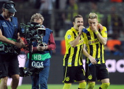 @BVB  @MarioGoetze  Reus great players #UCL