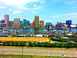 jahruletheworld:  Inner Harbor, Baltimore