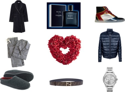 VALENTINES DAY GIFT IDEAS FOR HIM by millierouge featuring fendi belt
