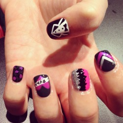 Mix N Match nailart by Wah gurl ebony @ebony_86 #nails #nailart