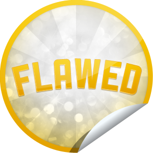 I just unlocked the Flawed Gold sticker on GetGlue                      23530 others have also unlocked the Flawed Gold sticker on GetGlue.com                  You really are a true Flawed Character! That's 50 check-ins to items with flawed characters.