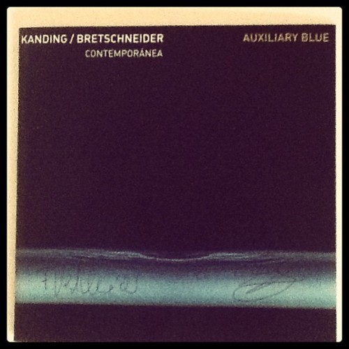 Auxiliary Blue - new music from Frank Bretschneider #rasternoton #german #AlbumArt #cd