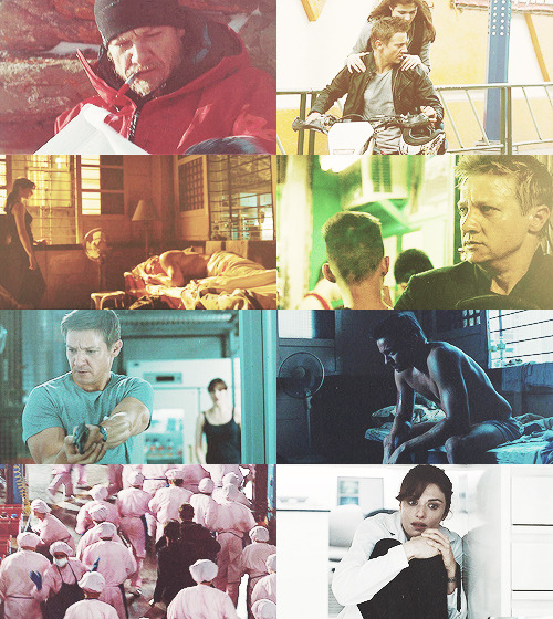 The Bourne Legacy + Colors