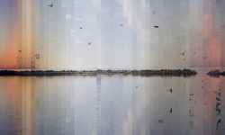 Salton Sea Revisited from media artist Xárene Eskandar's series Waters Re