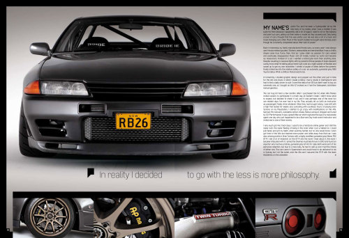 BNR32 GT-R Auto Salon Feature (via justinfox)