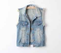 rainbowforests:  Jean Jacket on We Heart It. https://weheartit.com/entry/60589979/via/OnlyErika