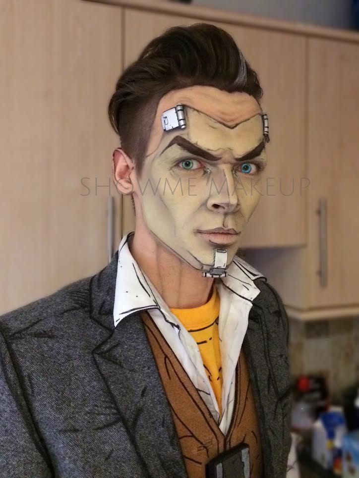 pretty halloween makeup mask