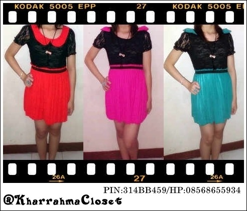 #KIRARA DRESS# Price : only 85.000 FIXED PRICE (shipping charge is not included) Interested? Text me :08568655934. PIN:314BB459. @KharrahmaCloset *Can choose the color as desired *For further information contact us *Goods that have been purchased or have been sent will not be refunded, we will examine the goods before shipping I'm from Indonesia