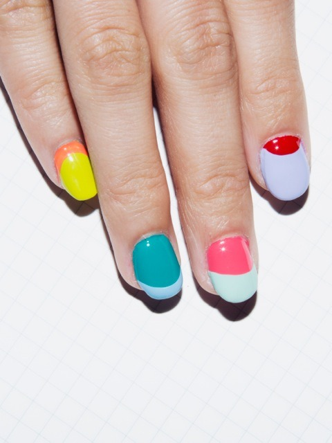 americanapparel:  Spring Nails by American Apparel