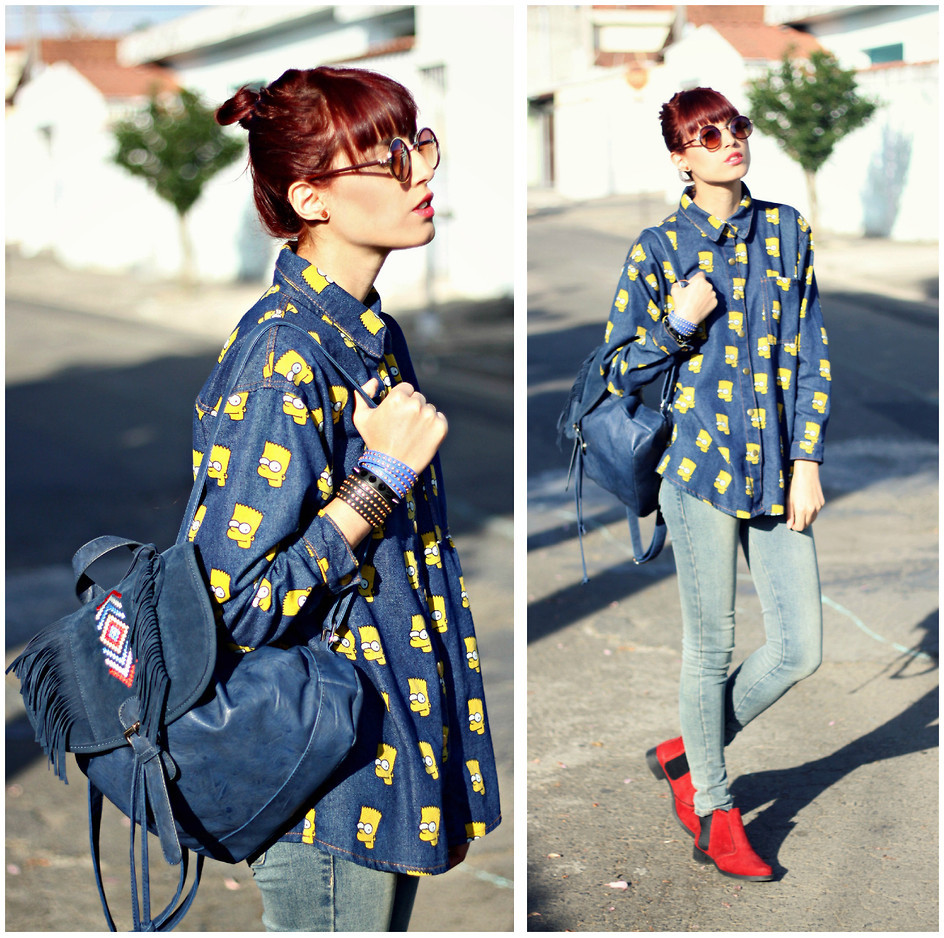 lookbookdotnu:  Bart Simpson! (by Glena Martins)