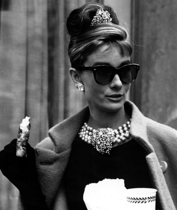 Breakfast at Tiffany's (love the Oliver Goldsmith sunglasses)