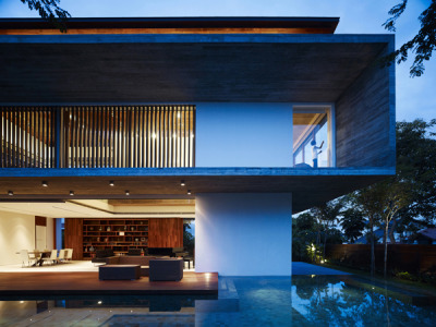 Haven nestled in tropical Singapore: M-House