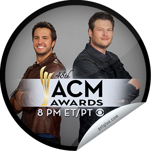 I just unlocked the 48th Annual ACM Awards sticker on GetGlue                      3020 others have also unlocked the 48th Annual ACM Awards sticker on GetGlue.com                  The 48th Annual ACM Awards – Thanks for watching the 48th Annual ACM Awards LIVE on CBS! You just earned your chance to win a trip to the 2014 ACM Awards by checking in! Share this one proudly. It's from our friends at Academy of Country Music.