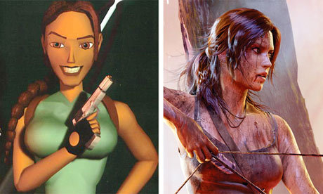 It is 17 years since Lara Croft's first adventure, Tomb Raider, in which time she has starred in a dozen games, two films, and an incalculable number of adolescent fantasies. Yet her life of plunder and peril begins anew this week with a full franchise reboot, starring Lara as we've never seen her before: inexperienced, scared and wearing trousers. Like Bond and Batman before her, she has been born again in darker, grittier detail. And, again like Bond and Batman, she sort of needed to be. Tom Meltzer writes in g2 Photograph: Rex Features